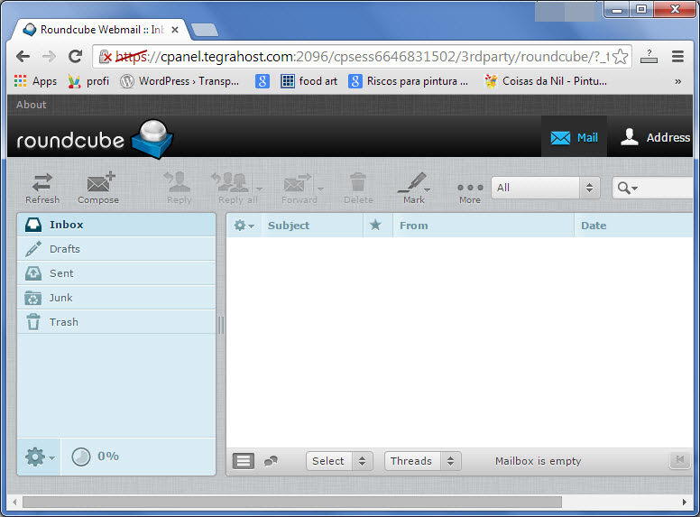 Dedicated email in cpanel