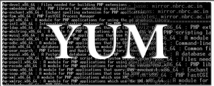 استفاده از تاریخچه YUM در لینوکس