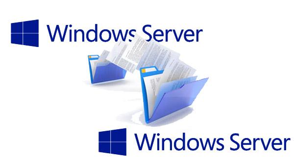 انتقال فایل بین دو سرور ویندوز