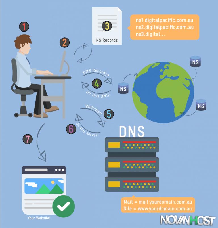 تفاوت بین NS و DNS چیست؟