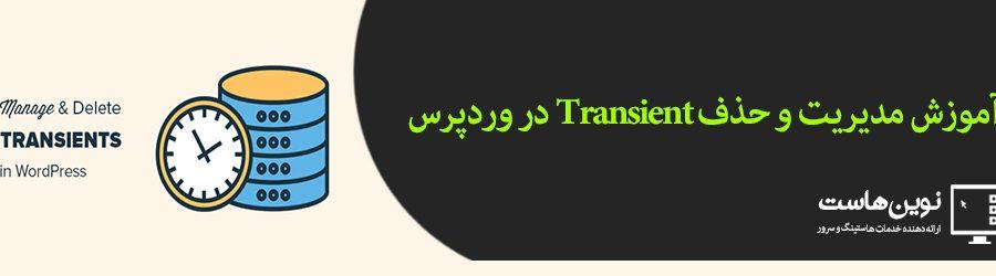 آموزش مدیریت و حذف Transient در وردپرس